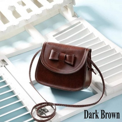 [CRAZY Clearance] Korean Fashion Women Sling Bag Cute Lovely Bowknot Shoulder Bag [Quantity Limited ONLY!] Ready Stock 111608