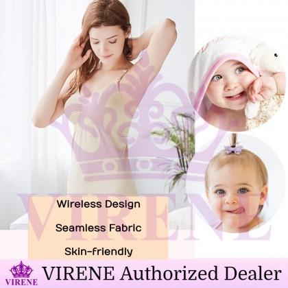 VIRENE Nursing Singlet Plus Size Woman Breastfeeding Singlet Maternity Camisole Slimming Top Ready Stock 221117