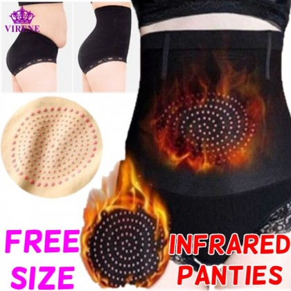 Buron Fat Infrared High Panties Slimming High Waist Tummy Control Panties Korset Bakar Lemak Seluar Dalam Ready Stock 312280
