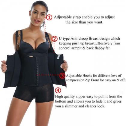 PLUS SIZE Super Slim Body Hot Shaper Slimming Sauna Suit Shapewear Corset 211199