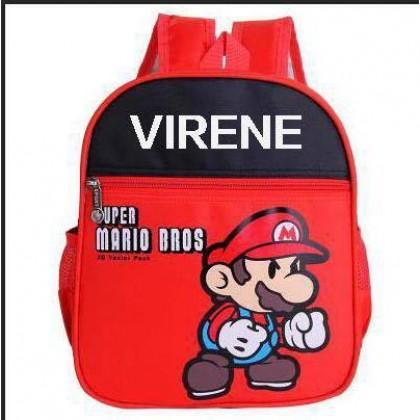 CRAZY Clearance Ready Stock Preschool Backpack School Kids Bag (LOGO)  212162