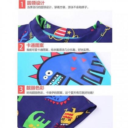 VIRENE Ready Stock Korean Fashion Kids Boy's Swimwear [FREE SWIM CAP] 530220SWK