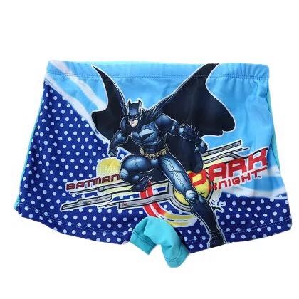 READY STOCK  Kids Swimming Pants Boy's Swim Trunk Batman Design 100388