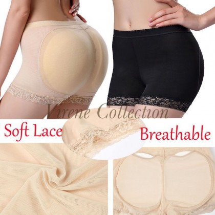 Ready Stock Women Padded Pad Butt Lifter Panty Lift Up Booty Hip Enhancer 329100