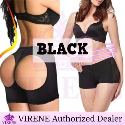 VIRENE Women Hip up Panties Pants Underwear Lifter Butt Enhance Pants Tummy Control Open buttock Soft Ready Stock 101196