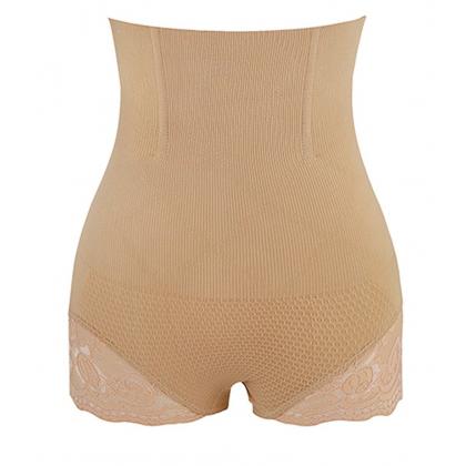 Lifter Butt Pants READY STOCK High Waist Flat Abdomen Hip Up Panties Lifter Butt Pants 现货 提臀高腰内裤 221008