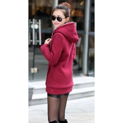 VIRENE【5 COLORS】PLUS SIZE Hooded Sweater READY STOCK Hooded Jacket 现货 外套 S - 3XL Clothing Wholesale 751144CPC