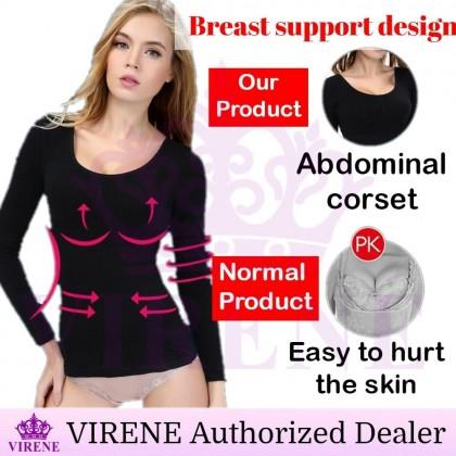 Ready Stock MUNAFIE Long Sleeve Slimming Shapewear /Korset Borong /Corset 541200