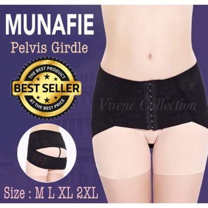 MUNAFIE Women Correction Pelvis Girdle Maternity Shapewear Buttock Belt 311080
