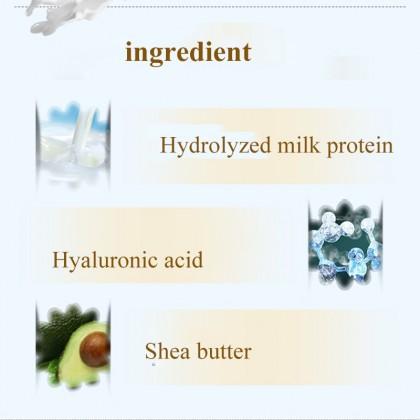 BIOAQUA 【100%Original】 Body Milk Lotion Moisturizing Whitening Anti Wrinkles Body Care 2232BA