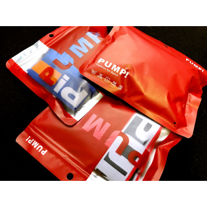 PUMP Men Cotton Underwear【3 Pcs Perpack Mix Colour】Man Brief Male Boxer Seluar Dalam Lelaki Men Breathable Colorful Underwear (Size M - 2XL) Ready Stock 432677