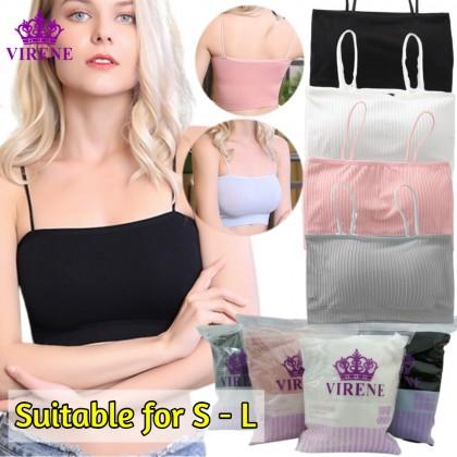 VIRENE Tube Bra Push Up Padded Tube Bra Wireless Seamless Sport Bra Yoga Bra Soft Comfy Inner Wear Singlet Top Ready Stock 831136
