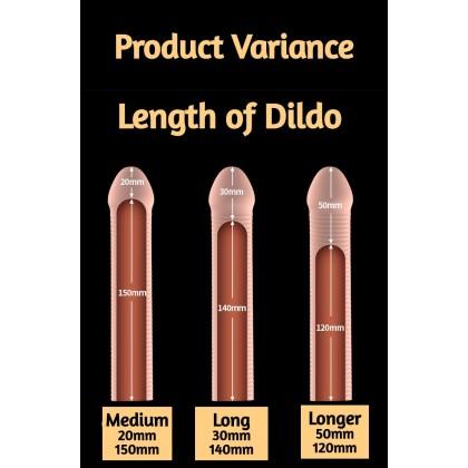 Longer Penis Condom Dildo Kondom Tambah Panjang Zakar Men Dildo Enlargement Condom Ready Stock - Privacy Delivery 321146ST