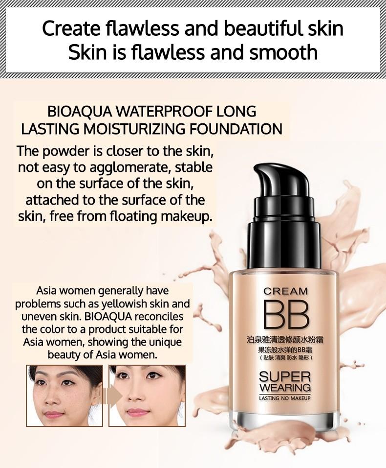 Amazon.com : Luxsea Waterproof BB Cream Tinted Moisturizer