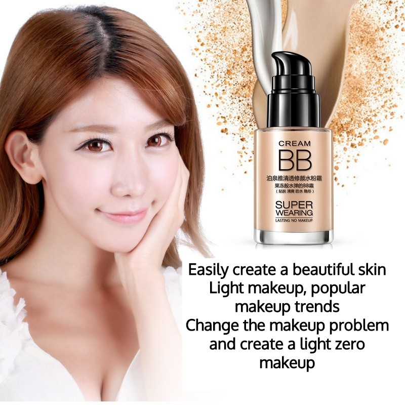 Instant Cover Long Lasting Waterproof BB Cream Foundation