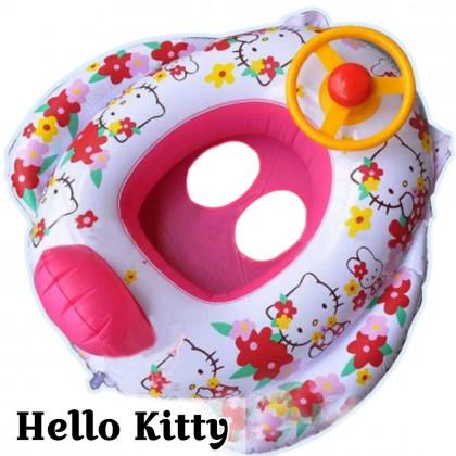 VIRENE Kids Lifebuoy【If Broken 1 Exchange 1】Inflatable Baby Lifebuoy Child Swim Aid Float Ring Ready Stock 311186