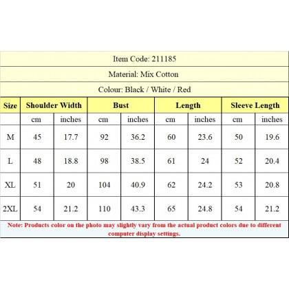 Oh My God! Women Shirt Casual Long Sleeve Blouse Fashion OMG! Top M - 2XL Ready Stock 211185