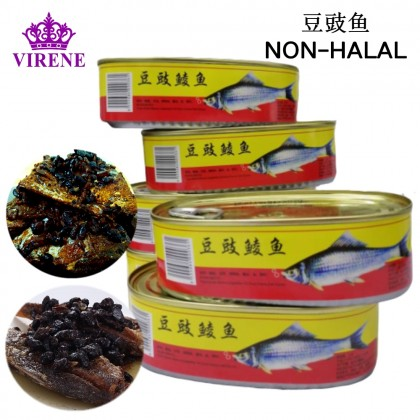 Fried Dace With Salted Black Beans 184G 天马牌豆豉鱼鲮鱼 Ready Stock 9555684000361
