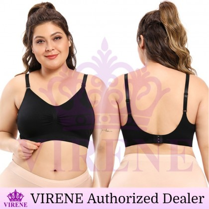 VIRENE Plus Size Nursing Bra Breastfeeding Bra Maternity Bra Pregnant Mummy Inner Wear Ready Stock 328800