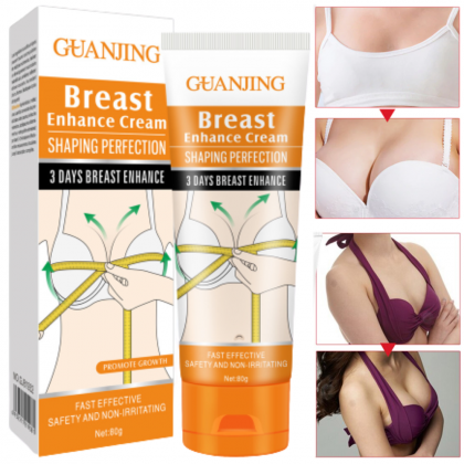 GUANJING Breast Enhance Cream 3 Days Enlargement Bigger Boobs Postpartum Bust Firming Shaping Ready Stock 6932511219081