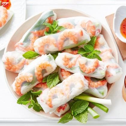 Ladamas Rice Paper 22cm Kulit Popiah Vietnam 越南薄饼皮 Vietnam Spring Roll Rice Paper 300g Ready Stock 9555554000835