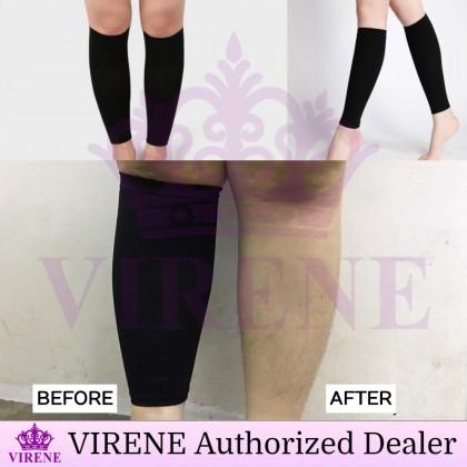VIRENE Leg Slimming Shaper 1 Pair Compression Calf Skinny Socks Slim Leg Sleeves Ready Stock 190061
