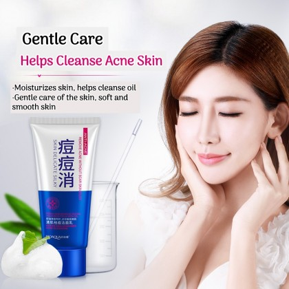 BIOAQUA 100% Original Anti-Acne Cleanser Remove Acne Without Scar Skin Silky Cleansing Ready Stock 7633BA