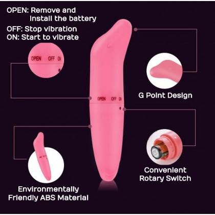 Dolphin Vibrator Clitoris G-spot Stimulator Massager Waterproof Mini Bullet Vibrator G-Spot Vibration Massager Ready Stock