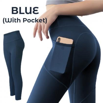 VIRENE Women Trackpants Pocket Sweatpants Fitness Pants Legging for Running/Yoga/Sports/Fitness Ready Stock 382301