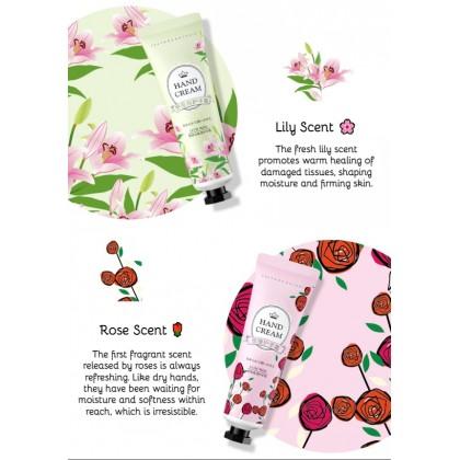 100% Original LUOFMISS Moisturizing Hand Cream Nourish Plant & Fruits Extract Perfumed Hand Beauty Smooth Hand Care 植物水果萃取香氛保湿护手霜 Ready Stock 66195BA