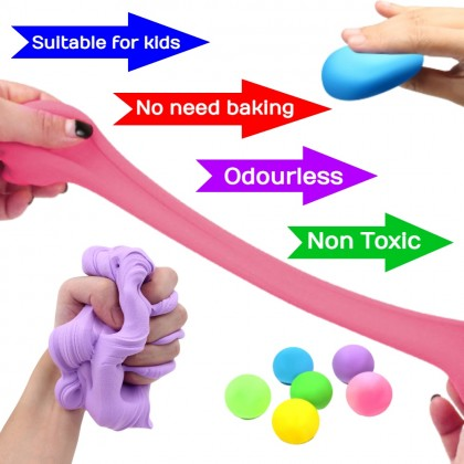 Non Toxic Light Air Dry Clay For Children【12 / 24 / 36 Colors】 Kid's Use Super Light Clay Odourless Multicolor Clay Set Ready Stock 100