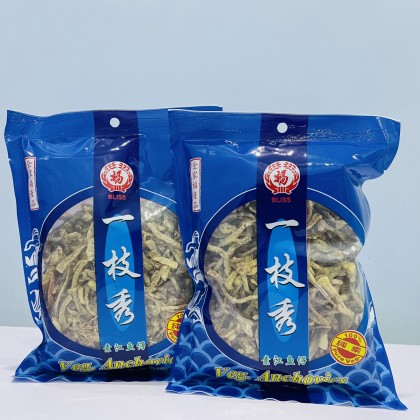 Chuan Kah Hock Vegetarian Ikan Bilis / Vegetarian Anchovies (一枝秀)素江魚仔( lkan Bilis Cendawan) 220g Ready Stock