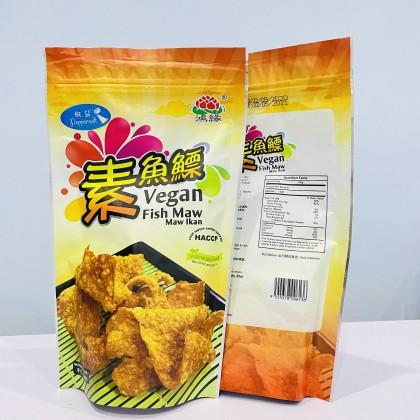 Exclwell Vegetarian- Crispy Vegan Fish Maw 鸿缘-素食魚鰾 ( 3 Flavour) Ready Stock 50gm/pack