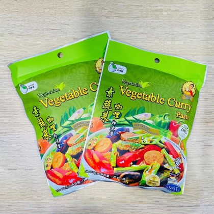 Nyor Nyar Vegetarian Instant Paste (Penang Curry Mee, Vegetable/Meat/Rendang Curry,Tomyam) ( 150g ± ) Ready Stock 娘惹素食即煮酱 (槟城咖喱面,蔬菜/肉/仁当咖喱,冬阴功酸辣海鲜汤)