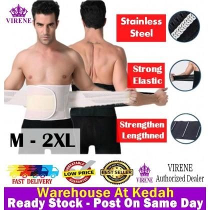 VIRENE Unisex Bengkung Slimming Body Shaper Women & Men Waist Trainer Abdomen Shapewear Ready Stock 321032
