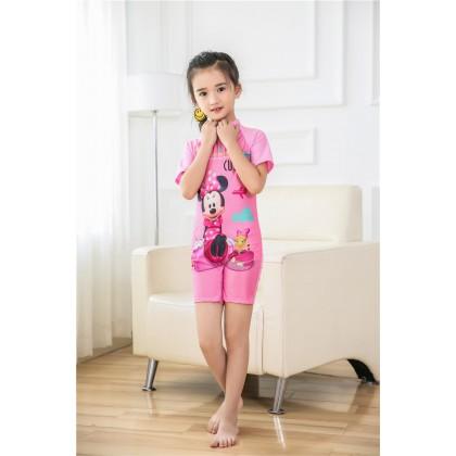 Ready Stock Korean Fashion 4 Designs Girls Swimsuit Children Swimwear 521260