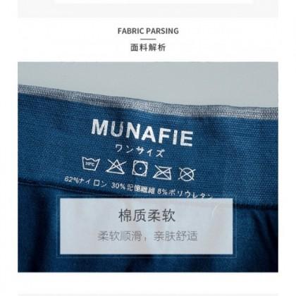Ready Stock Plus Size Munafie Fierce Men 3D Stereo Clipping Underwear Box 102206