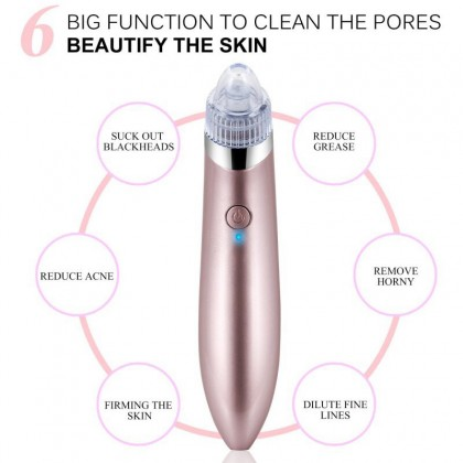 Blackhead Remover Vacuum USB Version (2 Speed 4 Replaceable) Blackhead Remover Pore Clean Facial Machine Ready Stock 630000