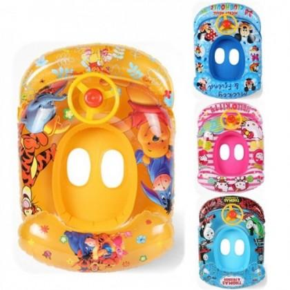 【If broken 1 Exchange 1】Inflatable Baby Lifebuoy Kids Swim Aid Float Ring 321088